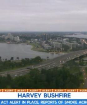 Perth Wakes Up To Thick Blanket Of Smoke From Harvey Fire