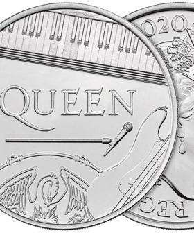 Queen Join The Queen On New Royal Mint Commemorative Coin