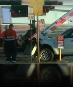 Alleged Drunk Driver Smashes Into Railway Boom Gate In Baysie