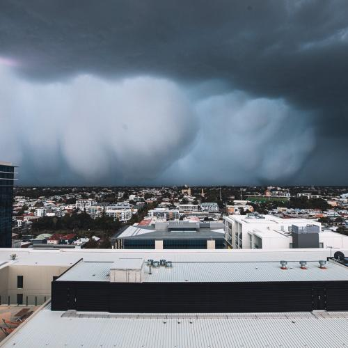 'The Sky Dropping Its Guts': Perth Cops Beast Of A Storm Cell