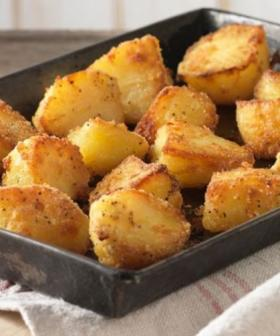 This Christmas-Level Roast Spud Recipe Has Just Two Ingredients, And One Of Them Is Spuds