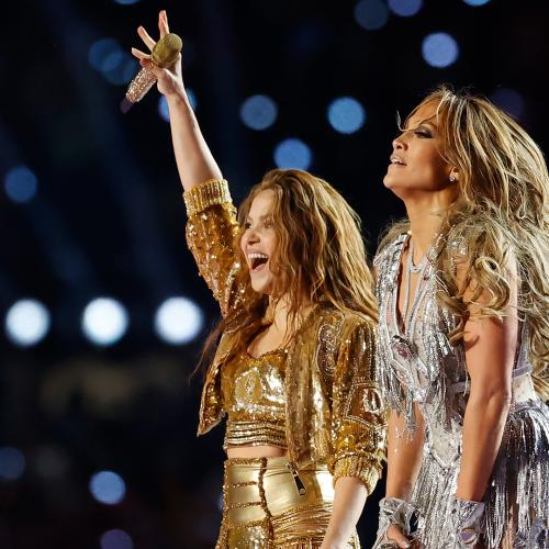 Jennifer Lopez & Shakira Performed At The Super Bowl & We Need A Fan ASAP