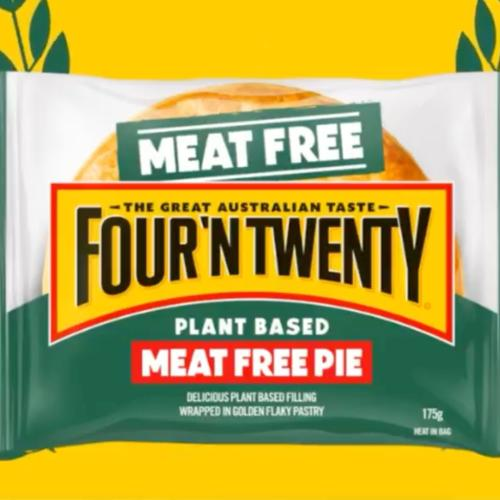 Four 'N Twenty Have Launched A Meatless Meat Pie So Vegetarians Can Get Amongst It