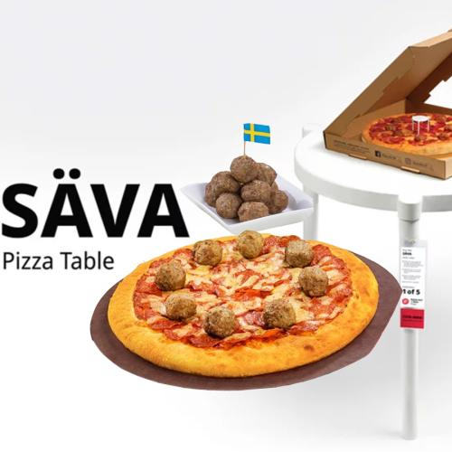 Pizza Hut x Ikea Have Had An INSANE Week Of Collabs