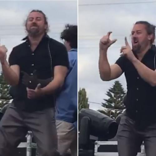 Auslan Interpreters Straight-Up Win Perth's Highway To Hell With EPIC AC/DC Performance