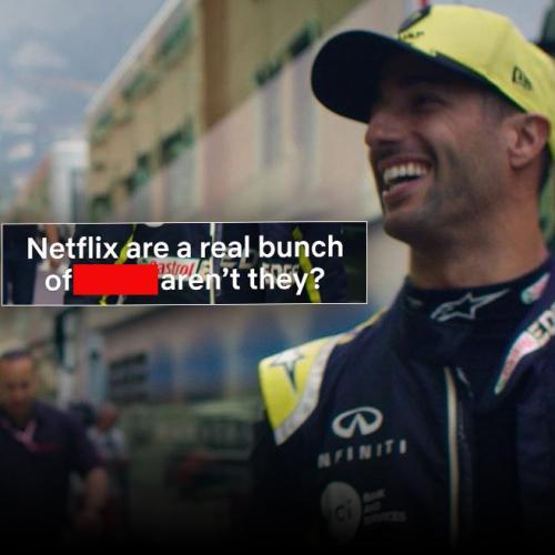 Daniel Ricciardo Drops C-Bomb In New Netflix F1 Doco