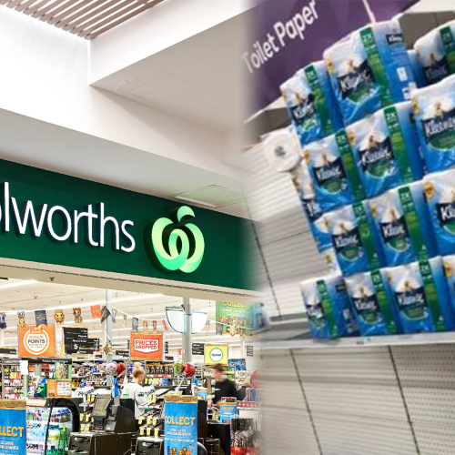 Woolworths Take Further Precautions Following Thousands Buying Stacks Of Toilet Paper