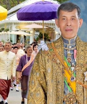 The King Of Thailand is Isolating With His Harem Of 20 Women And, Well, There Ya Go