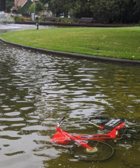 It's Been Two Days & Melbourne Is Already Dumping Uber's New Public Bikes Around The Place