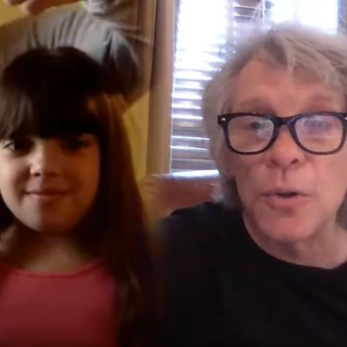 Jon Bon Jovi Dropped In On Kindergarten's Online Music Class