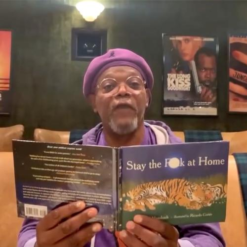 And now a bedtime story from Samuel L. Jackson...