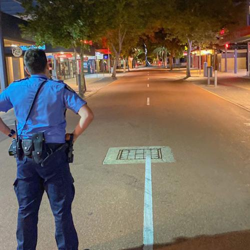Northbridge An Eerie Ghost Town As Party-Goers Stay Home On Saturday Night