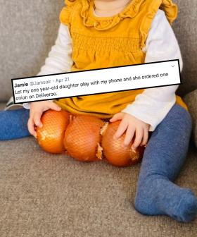 1-Year-Old Accidentally Buys 3 Single Onions Over Deliveroo On Dad's Phone