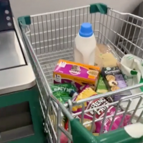 Woolworths Shopper Discovers Trolley Slides Perfectly Into Self-Serve Checkouts