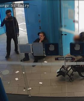 Shocking Images Of A Wheelchair-Bound Man Robbed At A Sydney ATM