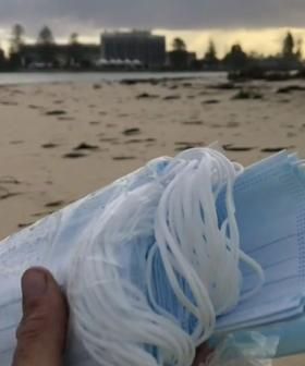 Face Masks From Ship Wash Up On Australian Beach