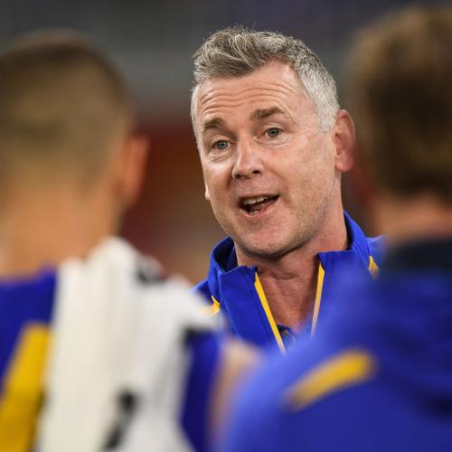Our 5 Fave Bits From Our Chat With West Coast Eagles Coach Adam Simpson