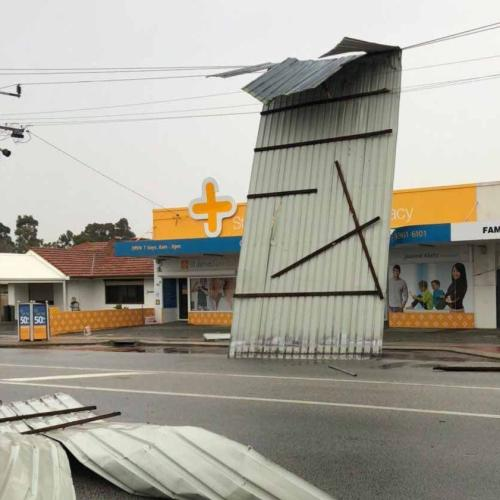 Second Day Of Wild Weather For WA