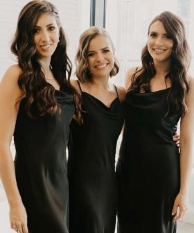 Bride Dresses Bridesmaids In $25 Kmart Dresses That Look Almost Identical To Designer Brand