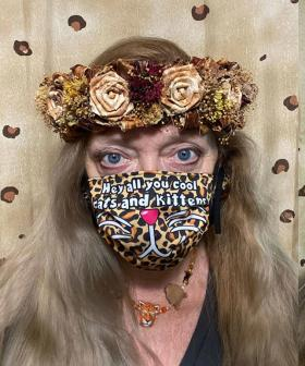 Tiger King's Carole Baskin Is Flogging Her Own Face Masks With Your Fave Slogan For Cheap!