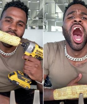 Jason Derulo Rips Two Front Teeth Out In TikTok Challenge Gone Wrong