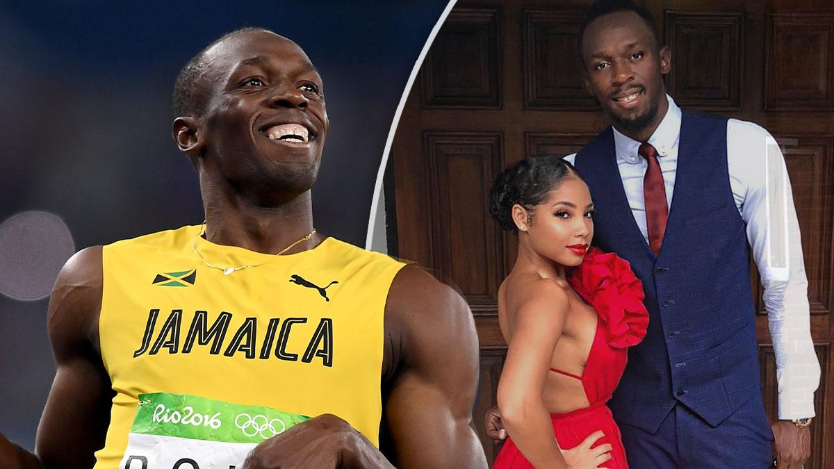Sprint King Usain Bolt And Long-Time Girlfriend Welcome ...
