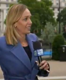 Aussie Reporter Has Terrifying Moment During Live Cross To Adelaide News Bulletin