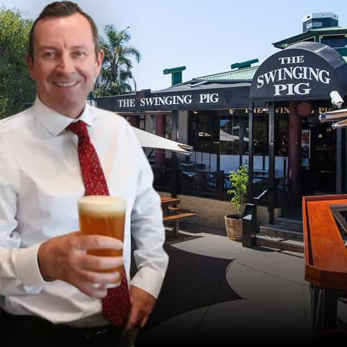 Perth Pub Slinging A Free Meal For Anyone Called 'Mark' This Weekend