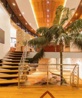 This WA Mansion Has An Indoor Waterfall And We Want To Send You There
