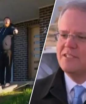 'Get Off The Grass!': PM's Press Conference Interrupted By Homeowner