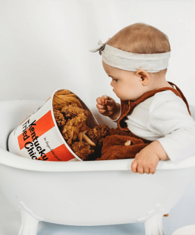Aussie Mum Is Slammed Over KFC-Themed Birthday Photoshoot For Her Baby