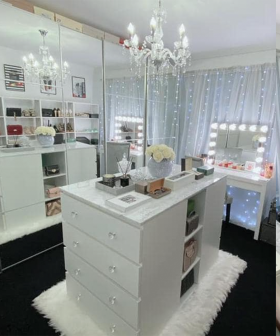 This Walk-In Wardrobe Created With Kmart Items Has Blown People's Minds