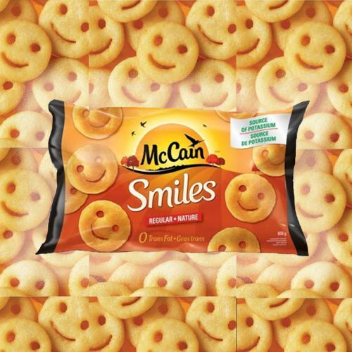 PSA Of All PSAs: McCain's Potato Smiles Are BACK With A New Name!