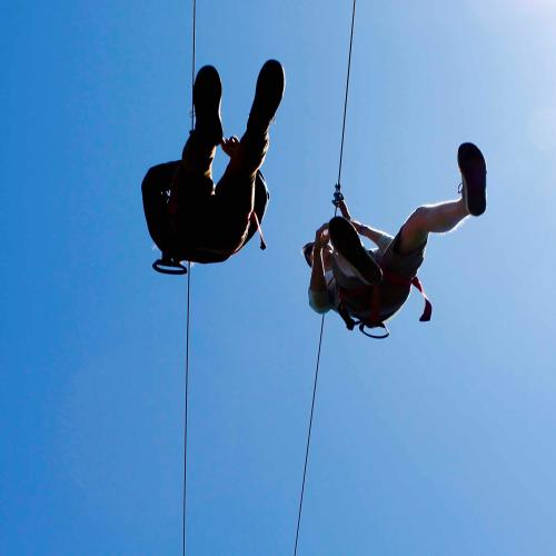 A 100km/h Zip-Line Is Underway At Matagarup Bridge Just In Time For Summer!