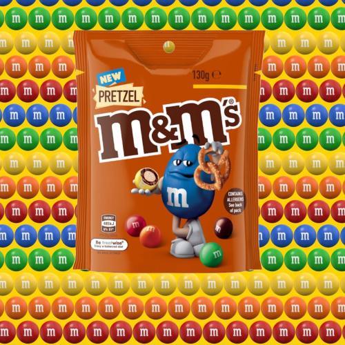 Pretzel M&M's Are Heading to Supermarket Shelves Down Under!