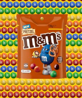Pretzel M&M's Are Heading to Supermarket Shelves Down Under!