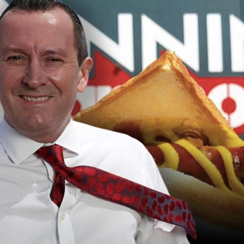 Mark McGowan Tells Us How He Likes His Bunnings Sausage