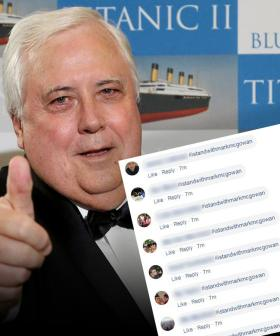 Clive Palmer's Social Media Flooded With #istandwithmarkmcgowan Hashtags