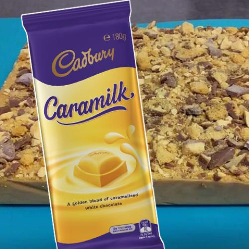 You Can Make This Caramilk Crunchie Slice In A Slow Cooker With Just 5 Ingredients