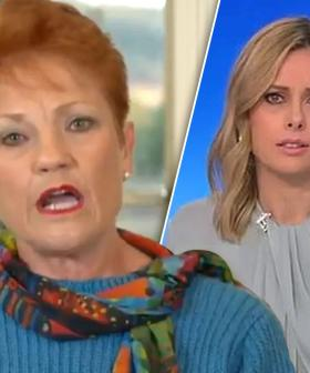 'Ill-Informed And Divisive': Pauline Hanson Banned From The Today Show