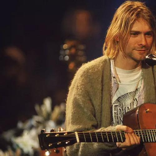 Someone Unearthed Video Of Kurt Cobain Playing A Surprise Solo Set In 1992