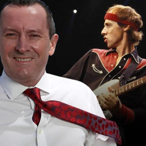 'We Were Spread Out On The Grass Watching Dire Straits': McGowan's Fave Perth Gig