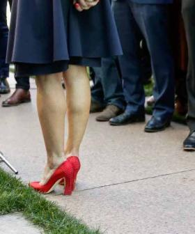 Why Julie Bishop Doesn't Wear Those ICONIC Red Heels Of Hers Anymore