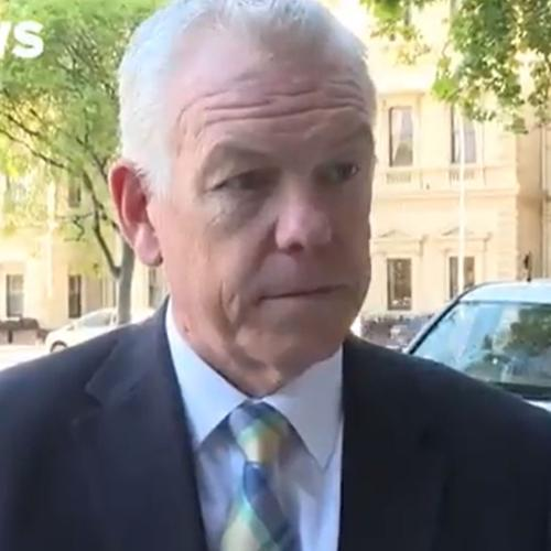 The SA Police Commissioner's Phone Rang During An Interview & His Ringtone Is 'I'm Too Sexy'