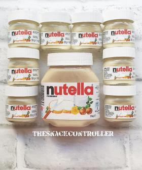 Snack Legend Releases Homemade White Nutella Recipe & It Looks INCREDIBLE