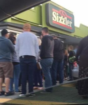 Huge Queues Snake Outside Perth Sizzler Over Weekend Following Closure Announcement