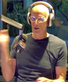 Fred almost wipes out the studio!