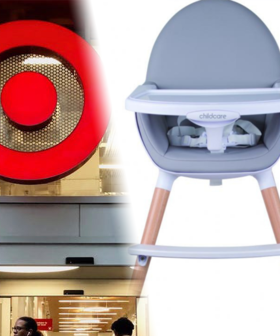 Popular Baby High Chairs Sold At Target & Big W Recalled Over Fears They Could Collapse
