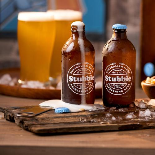 New Retro-Style 'Stubbie' Beer Has Its Roots In WA