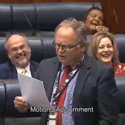 WA MP David Templeman's 'Ode To 2020' Hits International Headlines